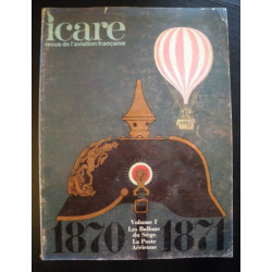 REVUE DE L'AVIATION FRANÇAISE ICARE N°56 Volume 1 - Les Ballons Librairie Automobile SPE ICARE 56
