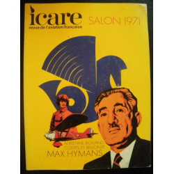 REVUE DE L'AVIATION FRANÇAISE ICARE N°58 SALON 1971
