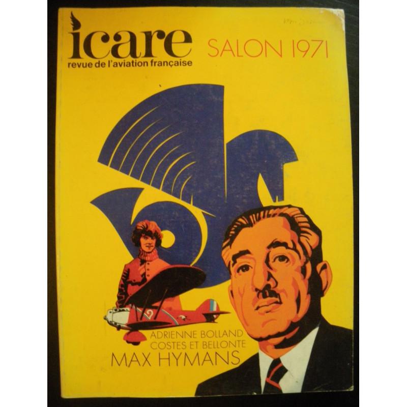 REVUE DE L'AVIATION FRANÇAISE ICARE N°58 SALON 71 Librairie Automobile SPE ICARE 58