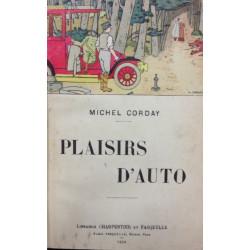 PLAISIRS D'AUTO - CORDAY Michel Librairie Automobile SPE PLAISIRS D'AUTO