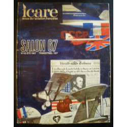 REVUE DE L'AVIATION FRANÇAISE ICARE N°42 SALON 67