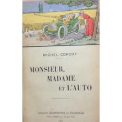MONSIEUR , MADAME ET L'AUTO Librairie Automobile SPE MONSIEUR MADAME