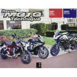 REVUE MOTO TECHNIQUE TRACER YAMAHA MT-09 de 2015 et 2016 - RMT 182 Librairie Automobile SPE 9782726892831