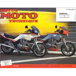 REVUE MOTO TECHNIQUE YAMAHA XJ 750 et XJ 900 de 1983 à 1990 - RMT HS02 Librairie Automobile SPE 9782726895016