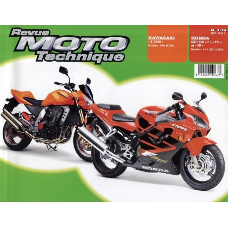 REVUE MOTO TECHNIQUE HONDA CBR 600 de 2001 à 2004 - RMT 134 Librairie Automobile SPE 9782726892343