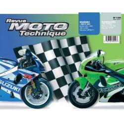 REVUE MOTO TECHNIQUE SUZUKI GSX-R 1000 de 2001 et 2002 - RMT 128 Librairie Automobile SPE 9782726892213