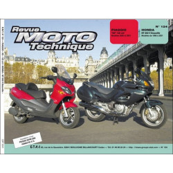 REVUE MOTO TECHNIQUE PIAGGIO X9 de 2000 et 2001 - RMT 124 Librairie Automobile SPE 9782726891889