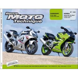 REVUE MOTO TECHNIQUE KAWASAKI ZX-6R NINJA de 2000 et 2001 - RMT 122 Librairie Automobile SPE 9782726891780
