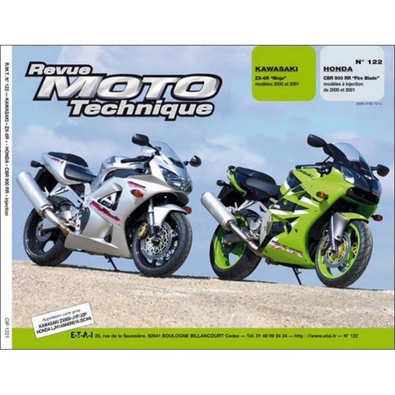 REVUE MOTO TECHNIQUE HONDA CBR 900 de 2000 et 2001 - RMT 122 Librairie Automobile SPE 9782726891780
