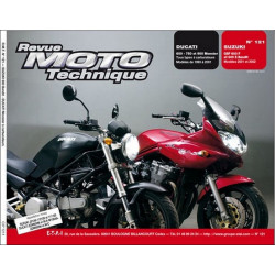 REVUE MOTO TECHNIQUE DUCATI MONSTER de 1993 à 2001 - RMT 121 Librairie Automobile SPE 9782726891773