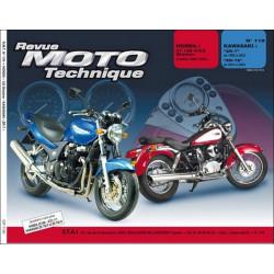REVUE MOTO TECHNIQUE KAWASAKI ZR-7 de 1999 à 2003 - RMT 119 Librairie Automobile SPE 9782726891698