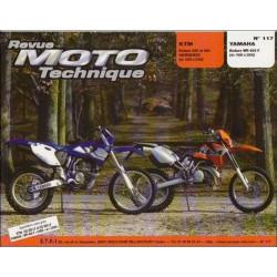 REVUE MOTO TECHNIQUE YAMAHA ENDURO WR 400 de 1998 à 2000 - RMT 117 Librairie Automobile SPE 9782726891674