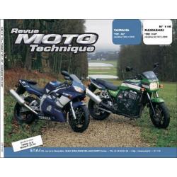 REVUE MOTO TECHNIQUE KAWASAKI ZRX 1100 de 1997 à 2000 - RMT 116 Librairie Automobile SPE 9782726891667