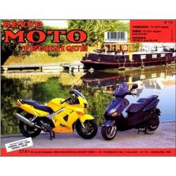 REVUE MOTO TECHNIQUE YAMAHA 125 et MBK 125 de 1998 et 1999 - RMT 115 Librairie Automobile SPE 9782726891599
