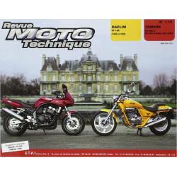 REVUE MOTO TECHNIQUE DAELIM VT 125 de 1998 et 1999 - RMT 113
