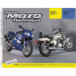 REVUE MOTO TECHNIQUE YAMAHA YZF R1 de 1998 à 2001 - RMT 112