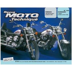 REVUE MOTO TECHNIQUE KAWASAKI VN 800 de 1995 à 1998 - RMT 109 Librairie Automobile SPE 9782726891438