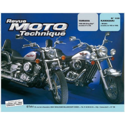 REVUE MOTO TECHNIQUE KAWASAKI VN 800 de 1995 à 1998 - RMT 109