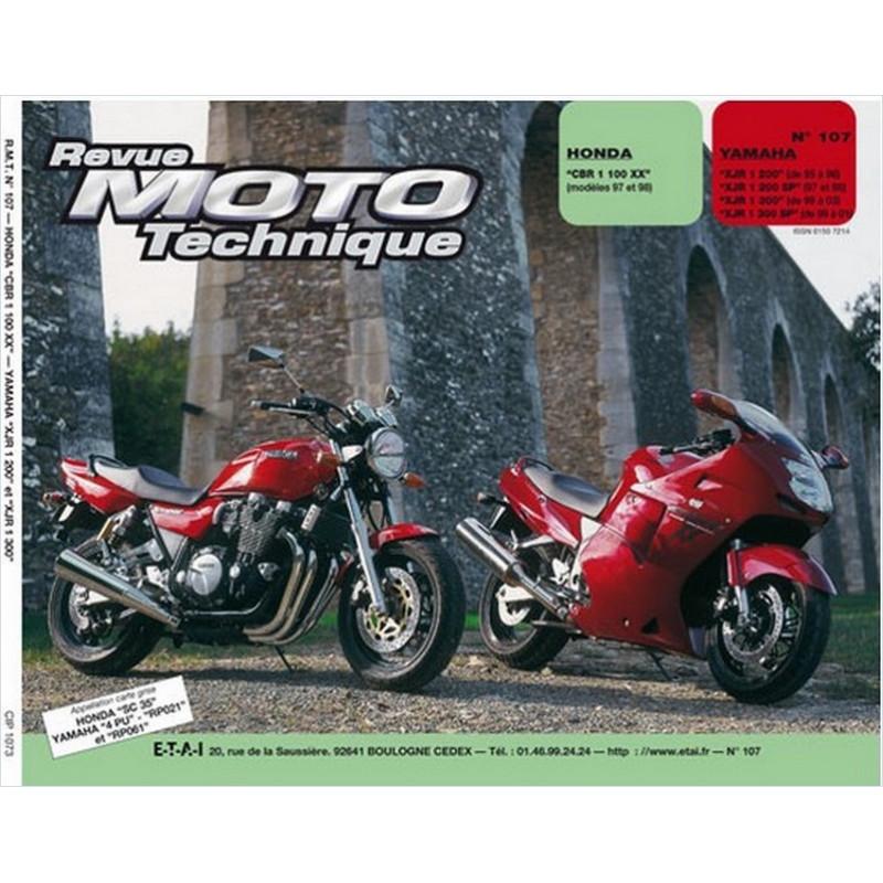 REVUE MOTO TECHNIQUE HONDA CBR 1100 de 1997 et 1998 - RMT 107 Librairie Automobile SPE 9782726891360
