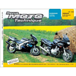REVUE MOTO TECHNIQUE YAMAHA XJ 900 DIVERSION de 1995 à 2002 - RMT 102 Librairie Automobile SPE 9782726891124