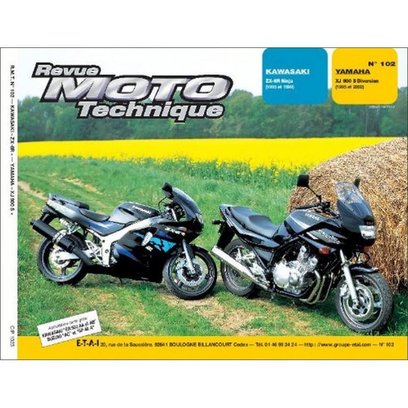REVUE MOTO TECHNIQUE YAMAHA XJ 900 DIVERSION de 1995 à 2002 - RMT 102 Librairie Automobile SPE 9782726891124