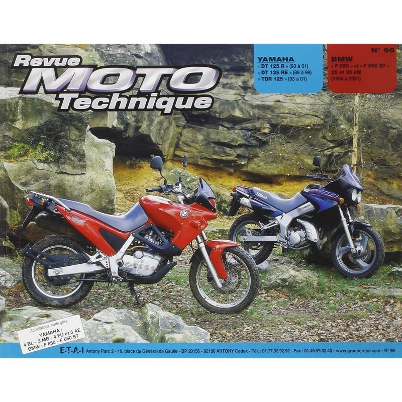 REVUE MOTO TECHNIQUE BMW F650 de 1994 à 2001 - RMT 96 Librairie Automobile SPE 9782726891414
