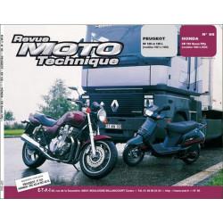 REVUE MOTO TECHNIQUE HONDA CB 750 SEVEN FIFTY de 1992 à 2000 - RMT 95 Librairie Automobile SPE 9782726891162