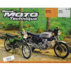 REVUE MOTO TECHNIQUE ZUNDAPP GTS et KS 50 - RMT 35 Librairie Automobile SPE 9782726890288-1