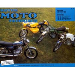 REVUE MOTO TECHNIQUE SUZUKI GT 125 et 185 de 1973 à 1980 - RMT 16 Librairie Automobile SPE 9782726890110-1