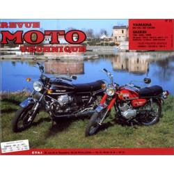 REVUE MOTO TECHNIQUE YAMAHA 125 RS et DX - RMT 21 Librairie Automobile SPE 9782726890141-1