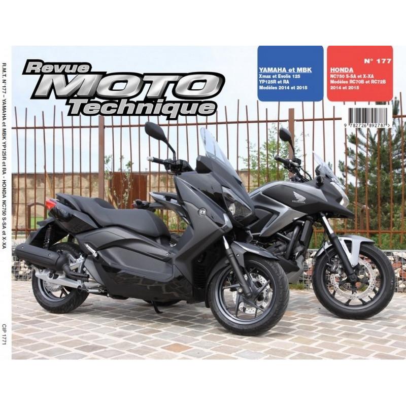 REVUE MOTO TECHNIQUE HONDA NC 750 de 2014 et 2015 - RMT 177 Librairie Automobile SPE 9782726892787