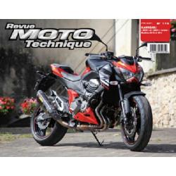REVUE MOTO TECHNIQUE KAWASAKI Z800 de 2013 et 2014 - RMT 174