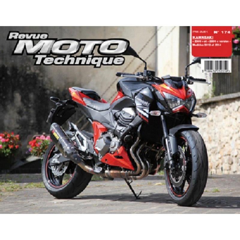 REVUE MOTO TECHNIQUE KAWASAKI Z800 de 2013 et 2014 - RMT 174 Librairie Automobile SPE 9782726892756