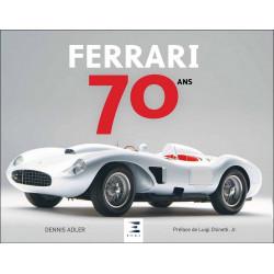 FERRARI 70 ANS de Dennis ADLER Librairie Automobile SPE 9791028301835