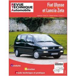 REVUE TECHNIQUE FIAT ULYSSE et LANCIA ZETA - RTA 855 Librairie Automobile SPE 9782726882917