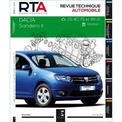 RTA 800 DACIA SANDERO II - 1.5 dCI 75 et 90 ch