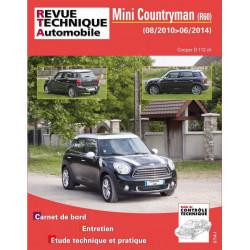 REVUE TECHNIQUE MINI COUNTRYMAN de 2010 à 2014 - RTA B786 Librairie Automobile SPE 9782726878651