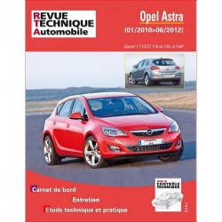 REVUE TECHNIQUE OPEL ASTRA IV PHASE 1 de 2010 à 2012 - RTA B784 Librairie Automobile SPE 9782726878453