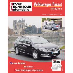 REVUE TECHNIQUE VOLKSWAGEN PASSAT VI depuis 2010- RTA B781 Librairie Automobile SPE 9782726878156
