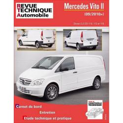 REVUE TECHNIQUE MERCEDES VITO II DIESEL depuis 2010 - RTA B779 Librairie Automobile SPE 9782726877951