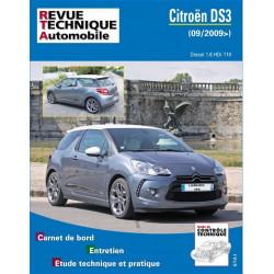 REVUE TECHNIQUE CITROEN DS3 DIESEL depuis 2009 - RTA B776 Librairie Automobile SPE 9782726877654