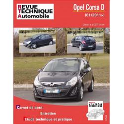 REVUE TECHNIQUE OPEL CORSA DIESEL depuis 2011 - RTA B774 Librairie Automobile SPE 9782726877456