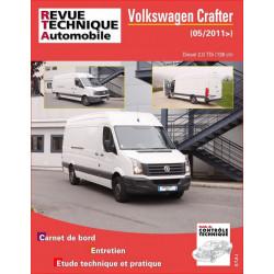 REVUE TECHNIQUE VOLKSWAGEN CRAFTER DIESEL depuis 2011 - RTA B772 Librairie Automobile SPE 9782726877258