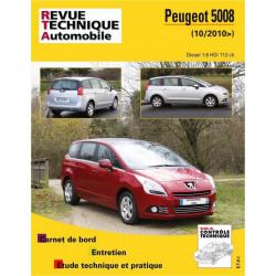 REVUE TECHNIQUE PEUGEOT 5008 DIESEL depuis 2010 - RTA B770 Librairie Automobile SPE 9782726877050