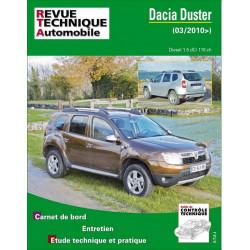 REVUE TECHNIQUE DACIA DUSTER DIESEL depuis 2010 - RTA B769 Librairie Automobile SPE 9782726876954