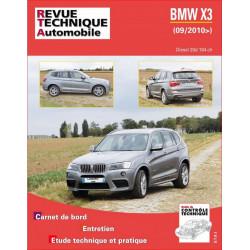 REVUE TECHNIQUE BMW X3 DIESEL depuis 2010 - RTA B767 Librairie Automobile SPE 9782726876756