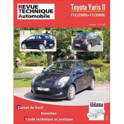 REVUE TECHNIQUE TOYOTA YARIS II DIESEL de 2005 à 2009 - RTA B766 Librairie Automobile SPE 9782726876657