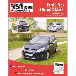 REVUE TECHNIQUE FORD C-MAX et GRAND C-MAX II DIESEL depuis 2010 - RTA B764 Librairie Automobile SPE 9782726876459