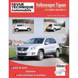 REVUE TECHNIQUE VOLKSWAGEN TIGUAN DIESEL de 2007 à 2011- RTA B762 Librairie Automobile SPE 9782726876251