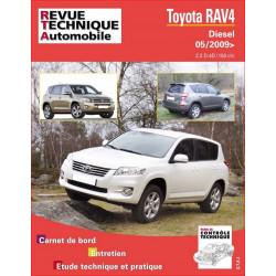 REVUE TECHNIQUE TOYOTA RAV 4 DIESEL depuis 2009 (phase III) - RTA B751 Librairie Automobile SPE 9782726875155